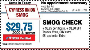 Smog Check Bakersfield